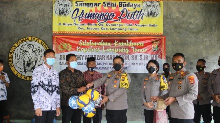 AKBP Zaky Ajak Masyarakat Bersinergi Bangun Jabung Lampung Timur