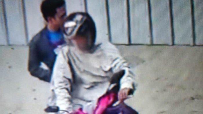 Aksi Pencurian Motor Sport Milik Warga Pringsewu Terekam CCTV, Pelaku 2 Orang