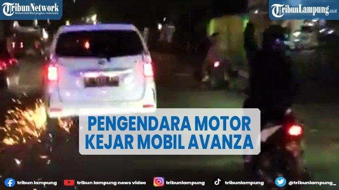 Viral Motor Kejar Avanza Pelaku Tabrak Lari, Mobil Berakhir Tragis Terbakar di Tengah Jalan