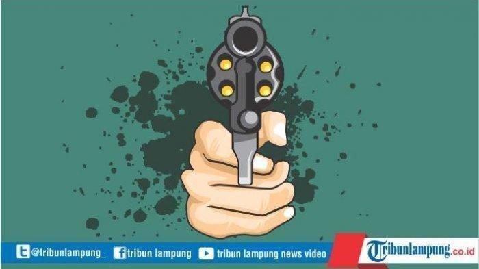 Aksi Suami Tembak Istri di Tulangbawang Diduga Dilatari Masalah Rumah Tangga