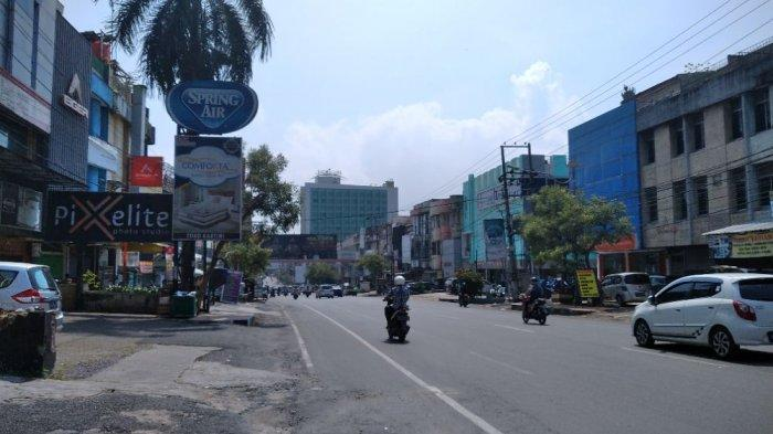 PPKM Level 4 Diperpanjang, Aktivitas Pusat Kota Bandar Lampung Berjalan Normal