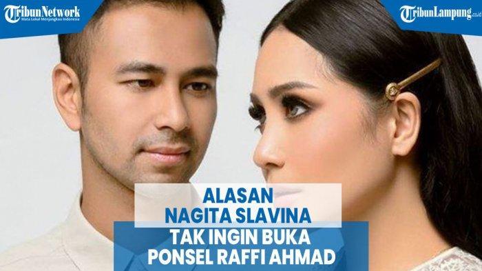 VIDEO Alasan Nagita Slavina Tak Ingin Buka Ponsel Raffi Ahmad
