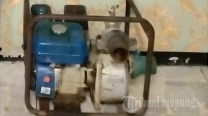 Pelaku Pencurian Mesin Air di Lampung Tengah Terancam 7 Tahun Penjara