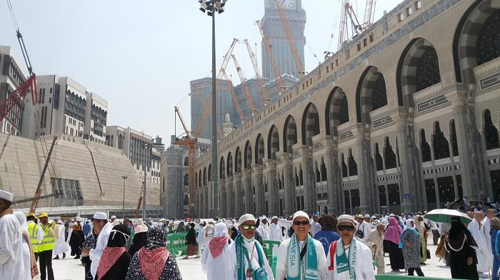 Suryanto: Itu Cuaca Terburuk di Mekkah