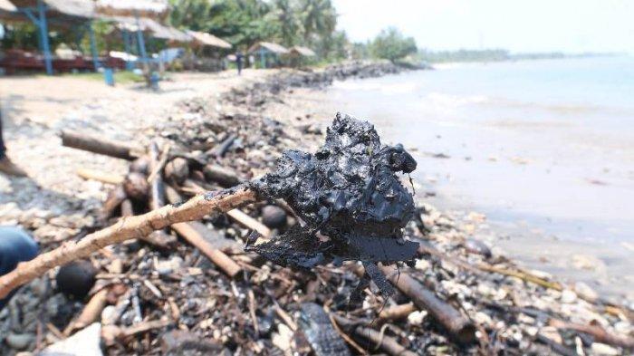 Alat Kurang Memadai, Polda Lampung Kirim Sampel Limbah Pantai ke Jakarta