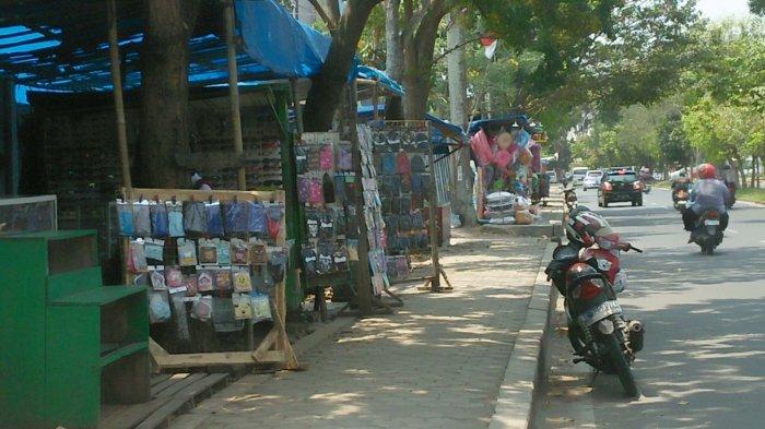 Alih Fungsi Trotoar Masih Terjadi di Bandar Lampung