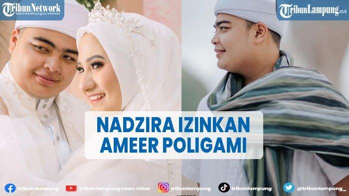 Baru Menikah Sehari, Ameer Azzikra Diizinkan Nadzira Shafa Poligami, Reaksinya Jadi Sorotan