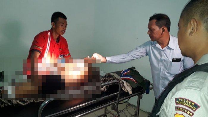 BREAKING NEWS - Polisi Tangkap Anak Bunuh Ayah Kandung di Pringsewu