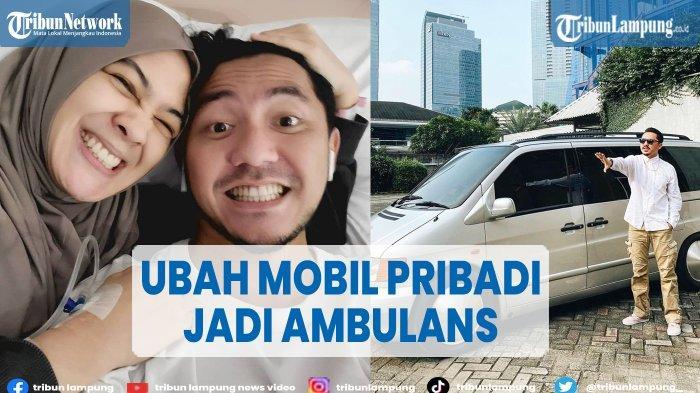 Ananda Omesh Pinjamkan Mobilnya untuk Ambulance Mengangkut Pasien Covid-19, Berikut Profilnya