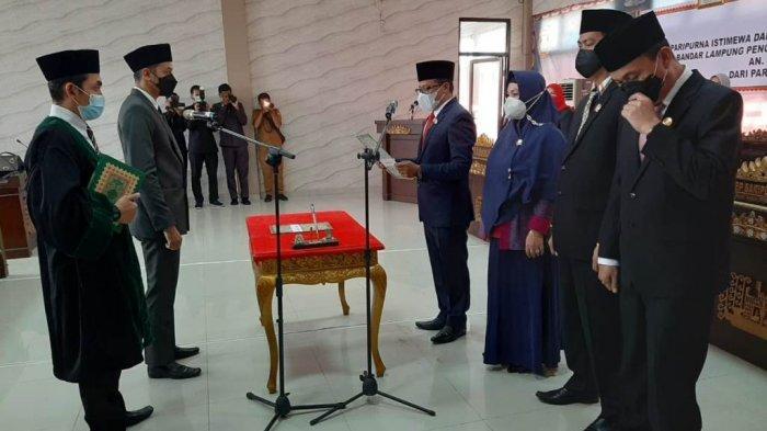 Sah, Andika Jaya Kusuma Resmi Jadi Anggota DPRD Bandar Lampung