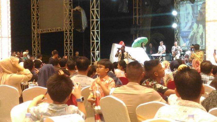 Andmesh Kamaleng Meriahkan Malam Tahun Baru 2020 di Novotel Lampung