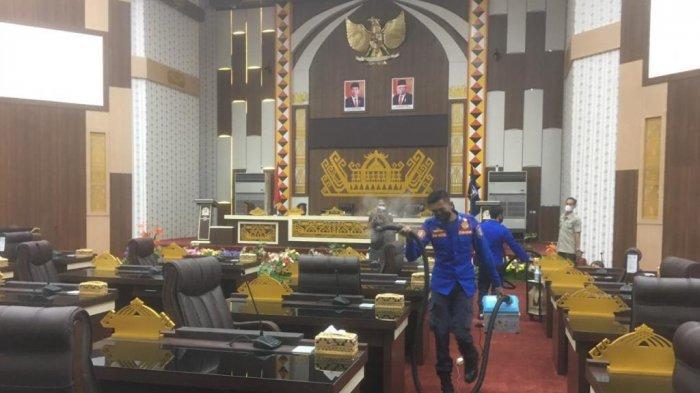 Anggota DPRD Pringsewu Meninggal karena Covid-19, Seluruh Ruangan Disemprot Disinfektan