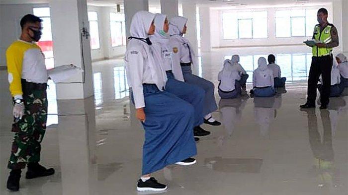40 Anggota Paskibra Pesisir Barat Lampung Jalani Masa Karantina