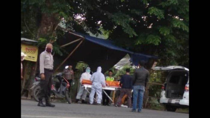 Anggota Polda Lampung Meninggal Mendadak saat Joging Pagi, Dijemput Petugas Pakai APD Lengkap