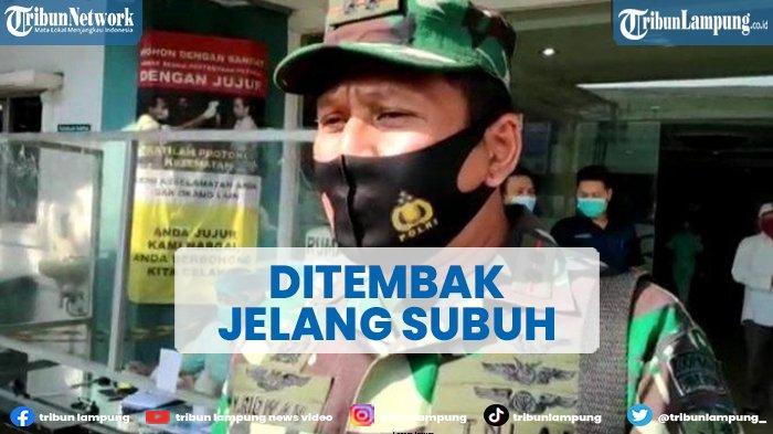 Anggota TNI AU dan Istri Ditembak Jelang Subuh, Pulang Tugas Dari Bandara