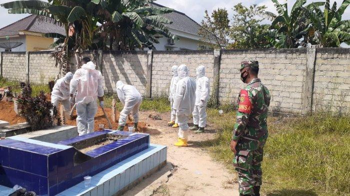 Anggota TNI di Tulangbawang Sampaikan Pesan Betapa Ganasnya Varian Baru Covid 19