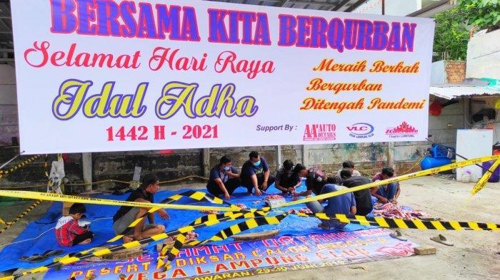 VLC-ZEC Lampung dan Andika Mahesa Kolaborasi Kurban Bersama