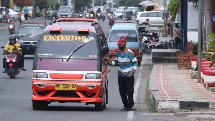 Angkot di Bandar Lampung Semakin Langka, Tahun Depan Cuma Ada 67 Unit yang Beroperasi