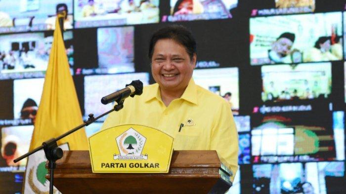 Menko Airlangga: Partai Golkar Terus Berjuang Sukseskan Strategi Pemerintah Tangani Covid-19