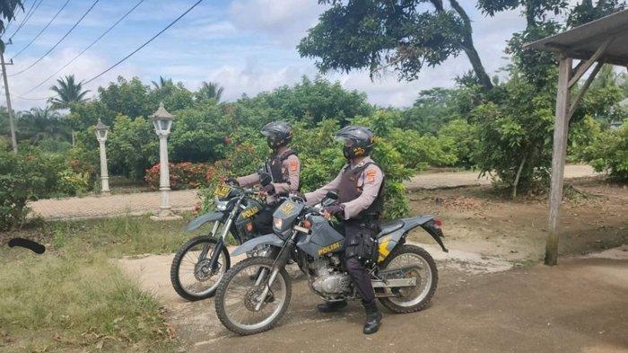Antisipasi Ganguan Kamtibmas, Sat Sabhara Polres Lampung Utara Gelar Patroli Bermotor