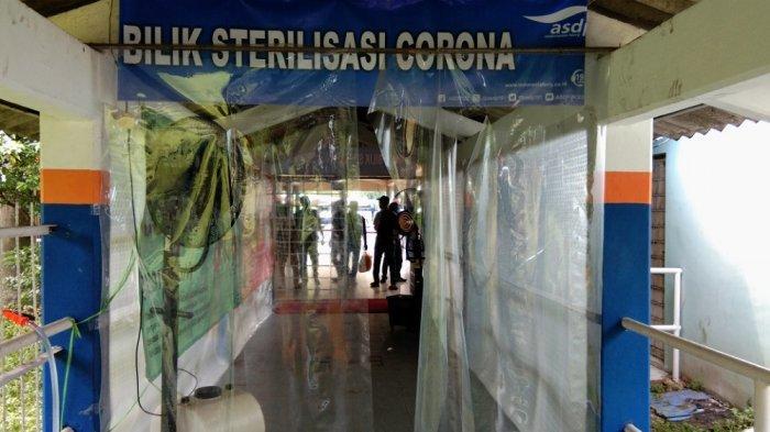 Antisipasi Penyebaran Virus Corona, PT ASDP Operasikan Lorong Sterilisasi Disinfektan di Bakauheni