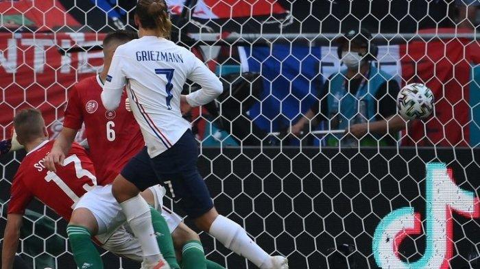 Hasil Piala Eropa 2021 Hongaria dan Perancis, Skor 1-1