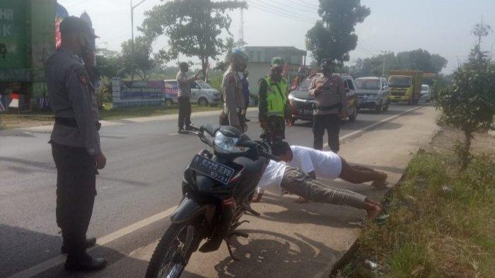 Aparat Gabungan di Lampung Timur Akan Sanksi Warga yang Langgar Prokes