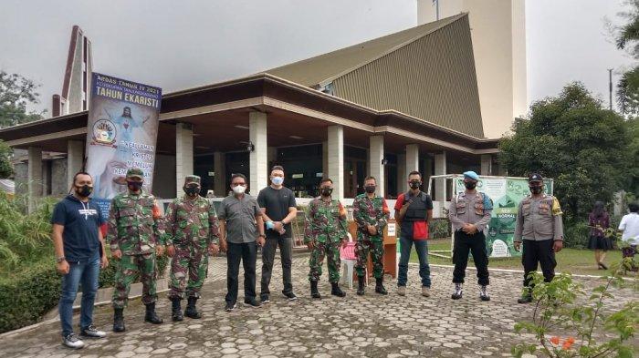 Aparat Polri-TNI Amankan Perayaan Paskah di Pringsewu
