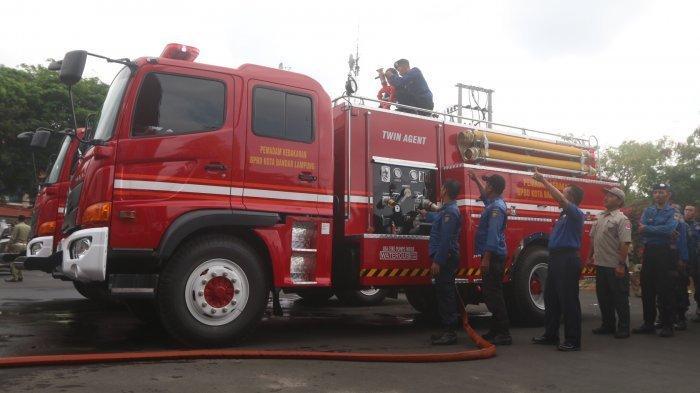 Satpol PP Lampung Selatan Akan Tambah Armada Pemadam Kebakaran