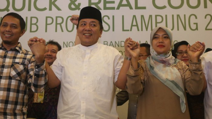 Ini Dia Sosok di Balik Layar yang Bikin Arinal-Nunik Unggul Pilgub Lampung 2018