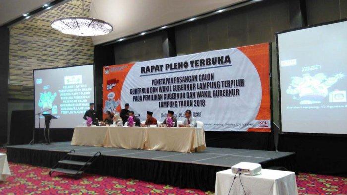 Ketua KPU Lampung Nanang Puji Penampilan Arinal yang Terlihat Lebih Muda