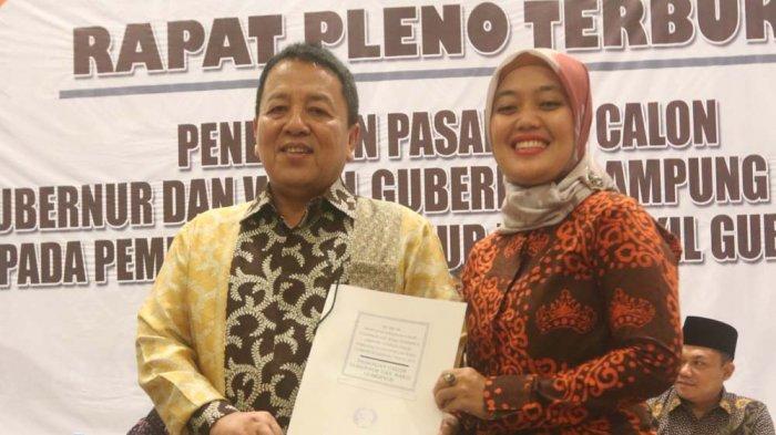 Masih Lama Dilantik, Ini Yang Dilakukan Gubernur Lampung Terpilih Arinal Djunaidi-Chusnunia Chalim