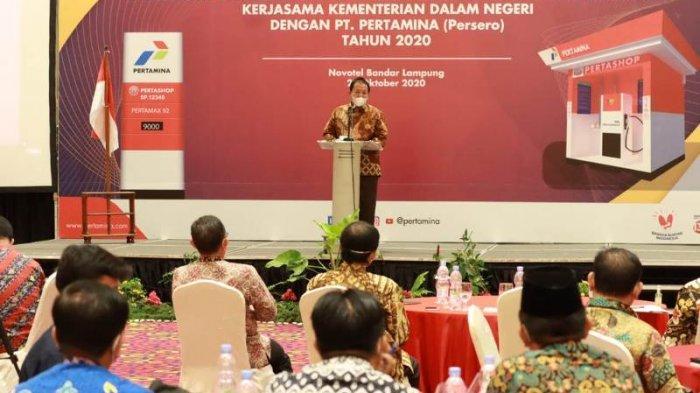 Gubernur Lampung Arinal Siapkan 300 Outlet Pertashop untuk Tingkatkan Produktifitas Pertanian