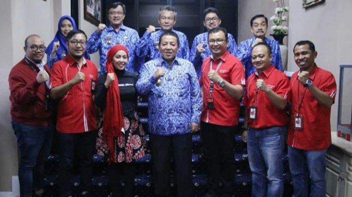 Gubernur Arinal Minta Telkomsel Kembangkan Pariwisata dan Ekonomi Kreatif Lampung