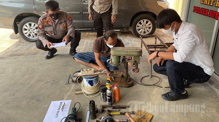 Aris Jual Senpi Rakitan di Lampung Seharga Rp 2,5 Juta