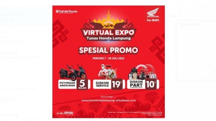 Virtual Expo Tunas Honda Lampung Hadir Kembali