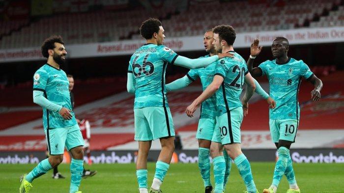 Liga Inggris - Liverpool Ukir Rekor Baru Setelah Kalahkan Arsenal