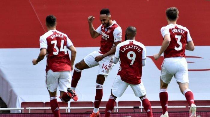 Jadwal Liga Inggris 2021, Imbang Melawan West Ham, Arsenal Langkahi Aston Villa di Klasmen Sementara