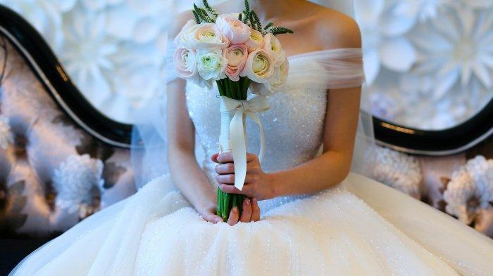 Ilustrasi baju pengantin. Simak arti mimpi pakai baju pengantin selain warna putih, warna pink pertanda baik