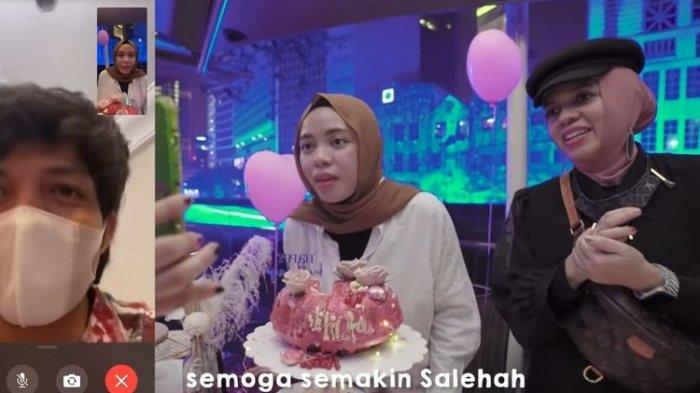 Artis Atta Halilintar Rayakan Ultah sang Adik Lewat Video Call