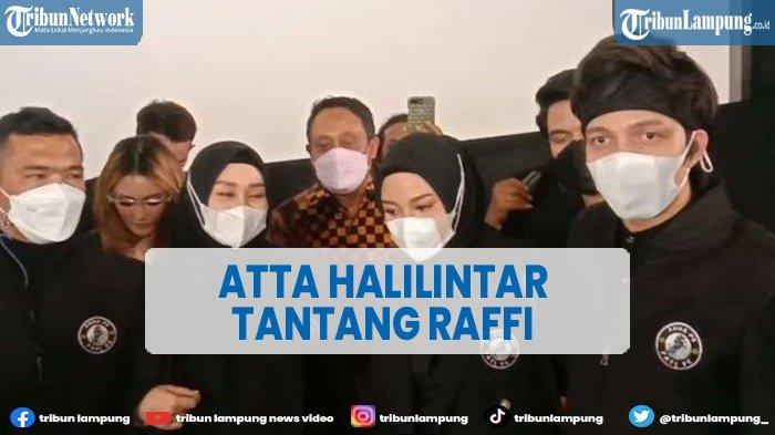 Artis Atta Halilintar Tantang Raffi Ahmad Tandingkan Klub Sepak Bola