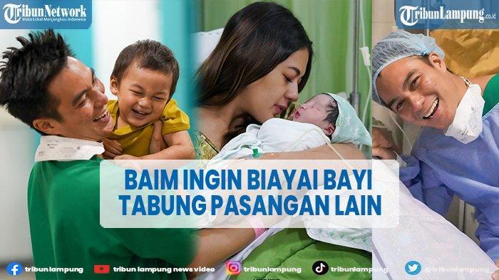 Bahagia Punya Anak 2, Baim Wong Akan Biayai Orang Lain yang Ingin Program Bayi Tabung