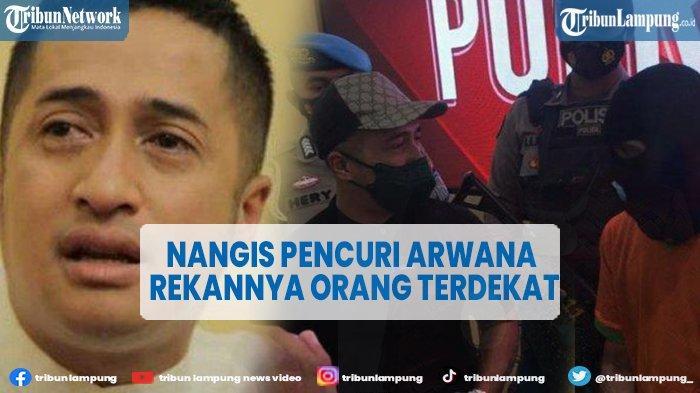 Artis Irfan Hakim Menangis di Mapolres Bogor Terkait Kasus Pencurian Ikan Arwana