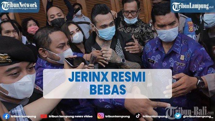 Penyanyi Jerinx SID Resmi Keluar dari Lapas Kerobokan