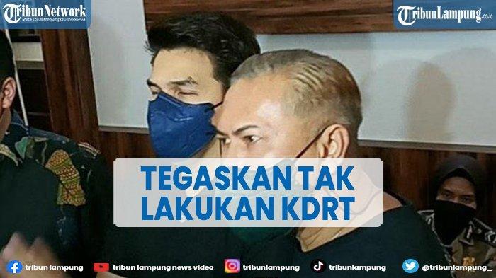 Jonathan Frizzy Datang ke Polres Jakarta Selatan, 'Saya Tidak Lakukan KDRT'
