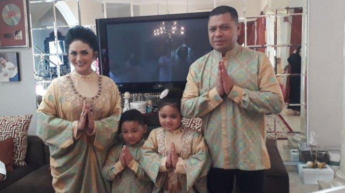 Raul Lemos Sebut Nama Aurel dan Azriel saat Berdoa di Hari Ulang Tahun Krisdayanti