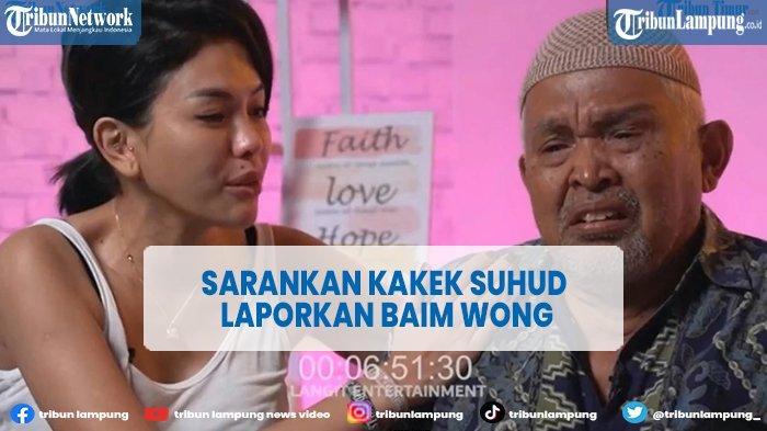 Tanggapi Video Baim Wong yang Viral, Nikita Mirzani Sarankan Kakek Suhud Laporkan ke Polisi