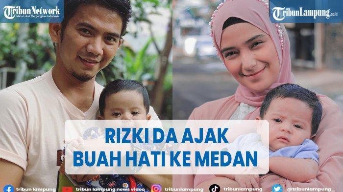 Rizki DA Ajak Nadya Mustika Pulang Kampung di Medan