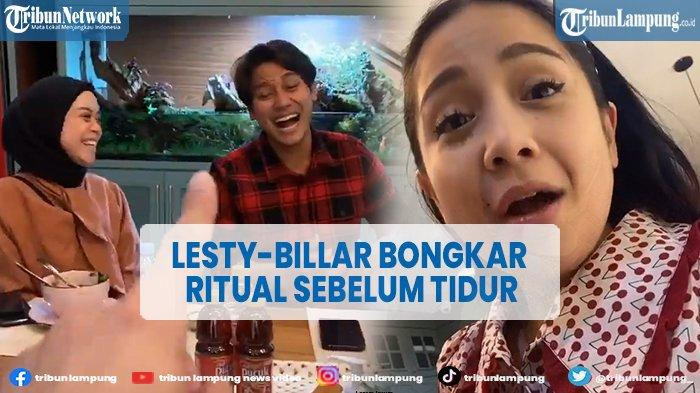 Ritual Rizky Billar dan Lesti Kejora Sebelum Tidur Bikin Nagita Slavina Minder
