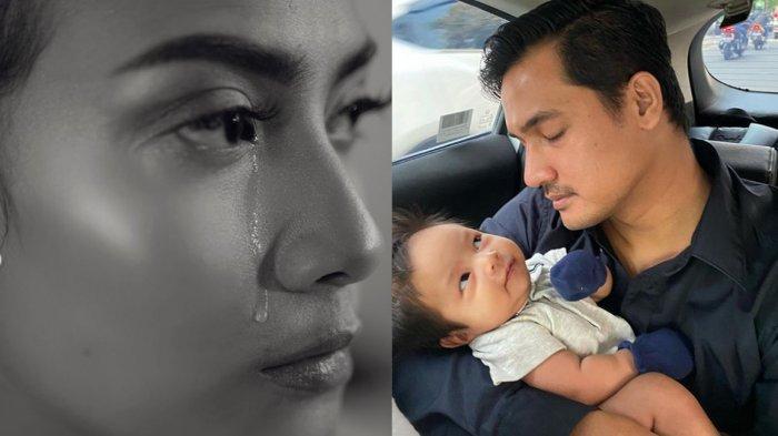 Potret Suami Vanessa Angel, Bibi Ardiansyah Pakai Daster Agar Anak Mau Minum Susu